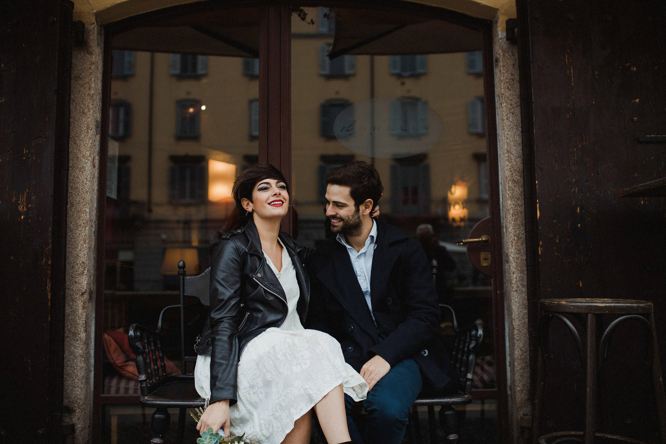 Engagement session in Milan