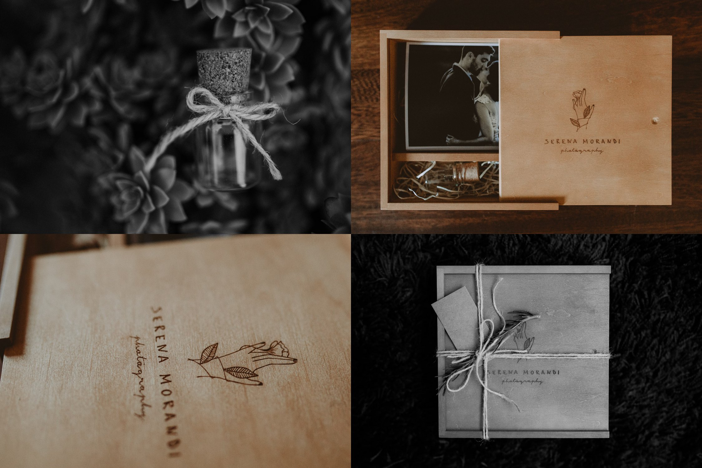 Packaging by Serena Morandi Photography